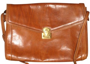 Other Brown Saddle Messenger Bag