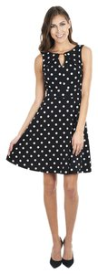Joseph Ribkoff Polka Dot Sleeveless Dress