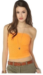 Free People Tube Stretchy Sexy Summer Top Orange