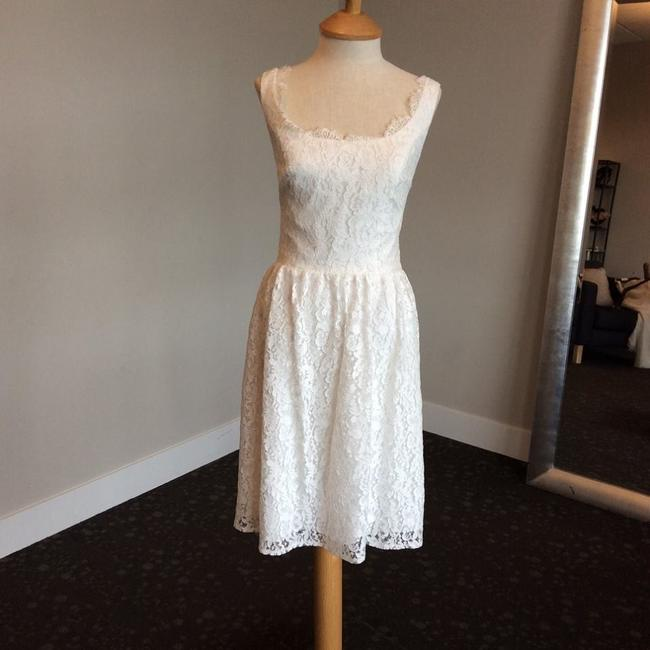Item - Ivory Lace Misha Casual Wedding Dress Size 8 (M)