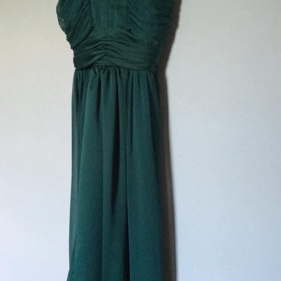 Max and Cleo Green Cocktail Mid-length Formal Dress Size 2 (XS ...
