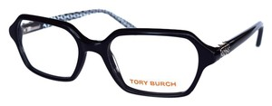 Tory Burch Women's Black Eyeglasses with Case