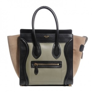 Céline Celine Tri-color Micro Shoulder Bag