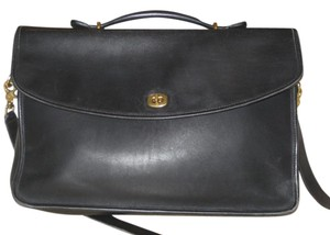 Coach Black Messenger Bag