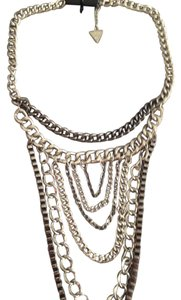 Guess Guess by Marciano Multi-Strand (6 strands) Bi-Color Silver Tones 16