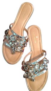 Kate Spade Rhinestone Wedding Wedding Silver Sandals