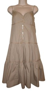 BCBGMAXAZRIA short dress Khaki on Tradesy