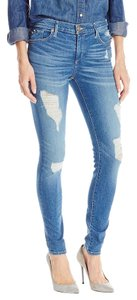 True Religion Halle Mid-rise Skinny Jeans-Distressed