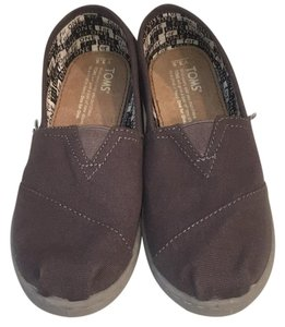 TOMS Taupe Flats