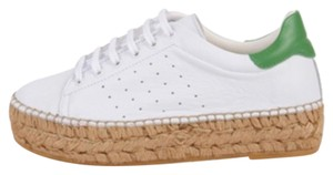 Vince Camuto White/Green Athletic