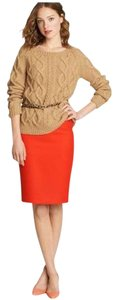 J.Crew Preppy Pencil Skirt Orange