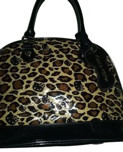 Hello Kitty Tote in Leopard Print