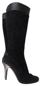 Hugo Boss Suede Midcalf black Boots
