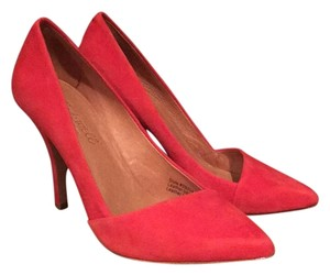 Madewell Bright Flame Pumps