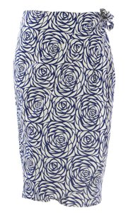 Boden Boden,Womens,Navywhite,Rose,Printed,Tie,Skirt,