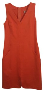 Banana Republic short dress Orange Sheath on Tradesy