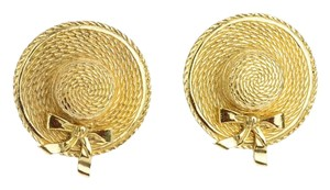 Chanel Chanel Vintage Hat Earrings