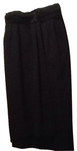 Giorgio Armani Skirt Black Wool