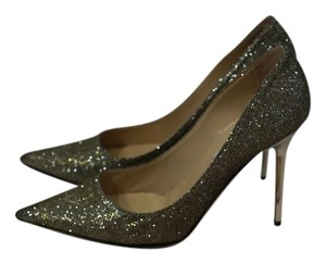 Jimmy Choo Light Bronze Pumps