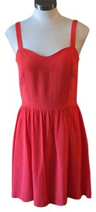 Joie short dress Orange (Mayan Red) on Tradesy