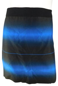 Marc by Marc Jacobs Silk Mini Ombre New Mini Skirt Blue/Black