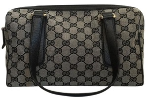 Gucci Satchel in Black/Gray