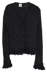 Chanel Sweater Jacket Knit Cardigan