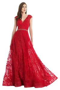 Morrell Maxie Evening Ball Gown Size 12 Color Dress