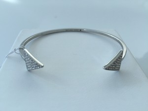 Michael Kors Michael Kors Silver Arrow Point Bangle