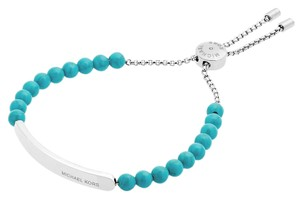 Michael Kors MICHAEL KORS Stainless Steel Beaded Slider Bracelet