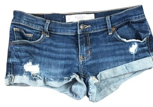 Abercrombie & Fitch Mini/Short Shorts Navy blue