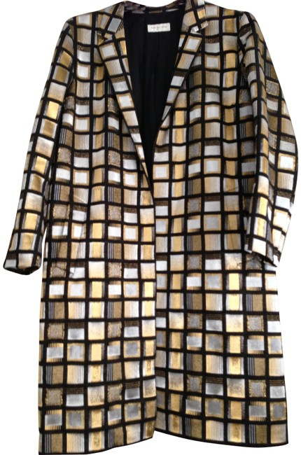 Preload https://item4.tradesy.com/images/dries-van-noten-black-gold-silver-size-14-l-186818-0-0.jpg?width=400&height=650