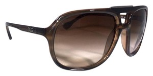 Dolce&Gabbana Brown Aviator Sunglasses DG 8076 FREE 3 DAY SHIPPING