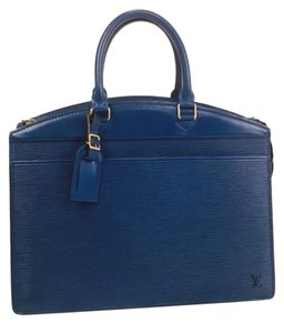 Louis Vuitton Lining Is Sticky And Peeling Tote in Blue