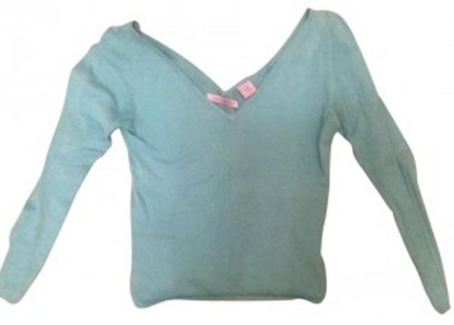 Preload https://item1.tradesy.com/images/turquoise-sweaterpullover-size-0-xs-186845-0-0.jpg?width=400&height=650