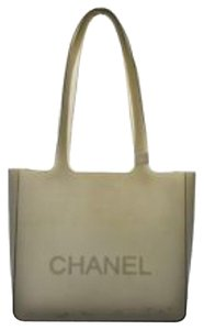 Chanel Tote in Grey/black