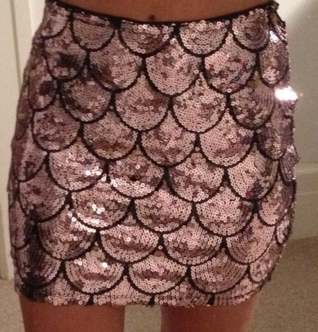 Lily White Skirt pink