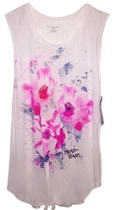 DKNY Top White/multi