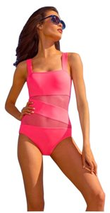 DKNY Mesh Maillot One Piece