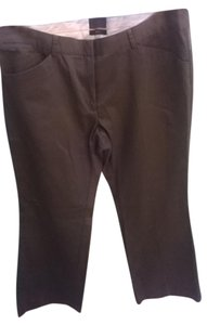 The Limited 100% Cotton Boot Cut Pants Muted Olive Green