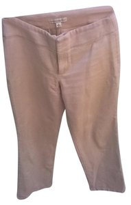 Banana Republic 100% Cotton Dry Clean Only Straight Pants Oatmeal