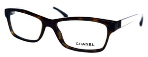 Chanel Eyeglasses Brown Clear with CHANEL Case