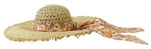 Gucci NEW GUCCI 339074 Women's Straw Wide Brim Sun Hat, Size XS