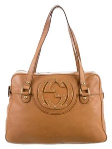 Gucci Brown Designer Shoulder Bag