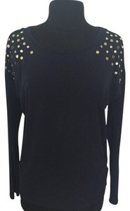 MICHAEL Michael Kors Navy Studded Sweater