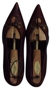 Henry Beguelin Brown Pumps