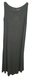 Green Maxi Dress by Eileen Fisher Maxi Causual Sleeveless