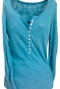 Aropostale T Shirt Turquoise