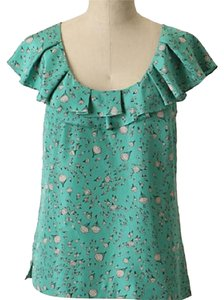 Anthropologie Top Mint