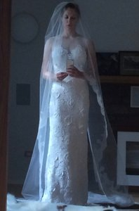Homa Bridal Home Chapel-length Veil